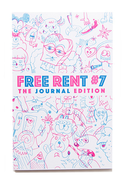 74-FreeRentZine-FreeRent#7-Cover400